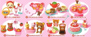 Re-ment Rilakkuma Ichigo Sweets Party | by x_Jess