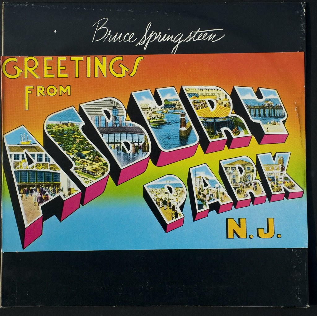 Greetings From Asbury Park Nj Album Cover The Reason F Flickr