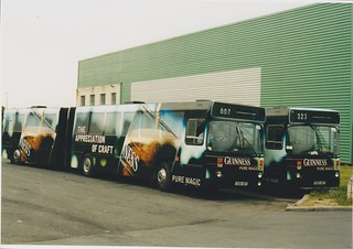 Guinness Leyland DAB buses | by D464-Darren Hall