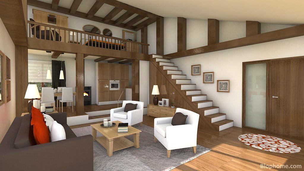 Lofts modernos LoftdiseadoconlaherramientadeBlopho