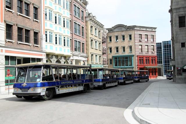 Universal Studios Tram Tour