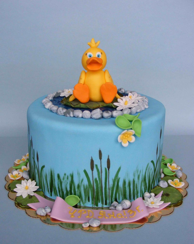 duck cake happy 3 bday iana Историята на bubolinkata b flickr