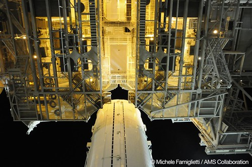 18 - Canister at the Pad - Photo Credit: Michele Famiglietti AMS-02 Collaboration | by ams02web