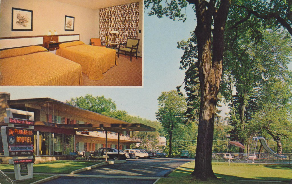 The Penn-Wells Motel - Wellsboro, Pennsylvania