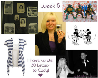 week 5 | by Jessie {Creating Happy}