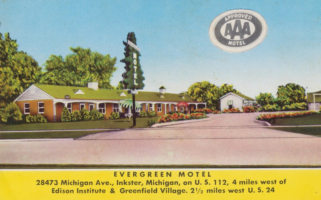 Evergreen Motel - Inkster, Michigan