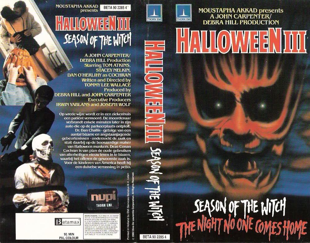 HALLOWEEN III SEASON OF THE WITCH (VHS Box Art) | monsterbra… | Flickr