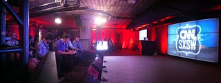 CNN Press Event Panorama from AutoStitch | by stevegarfield