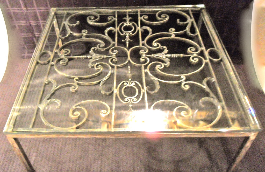 ... Antique 19th Century French Gate Coffee Table $500  Item 47  | By  Ezeeplanet2