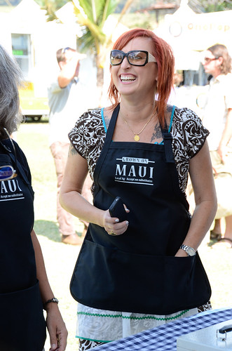 @jenrusso at #MauiAgFest | by Slow Food Maui