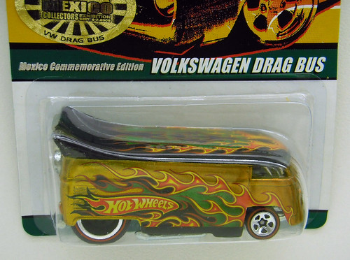 hot wheels mexico convention 2009 vw drag bus. Black Bedroom Furniture Sets. Home Design Ideas
