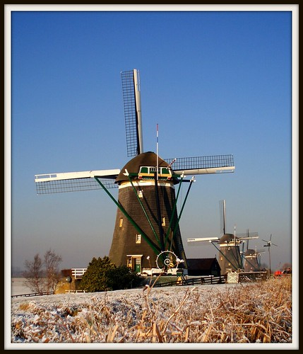 Three mills at Stompwijk | by Frans Schmit