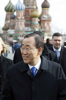 Secretary-General Tours Moscow's Red Square | by United Nations Photo