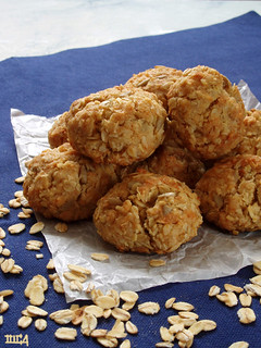 oat and coconut cookies | by olgucz