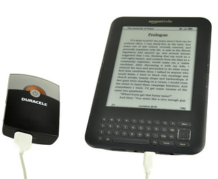 Duracell 2-In-1 USB Charger - Charging Amazon Kindle | by DuracellDirect