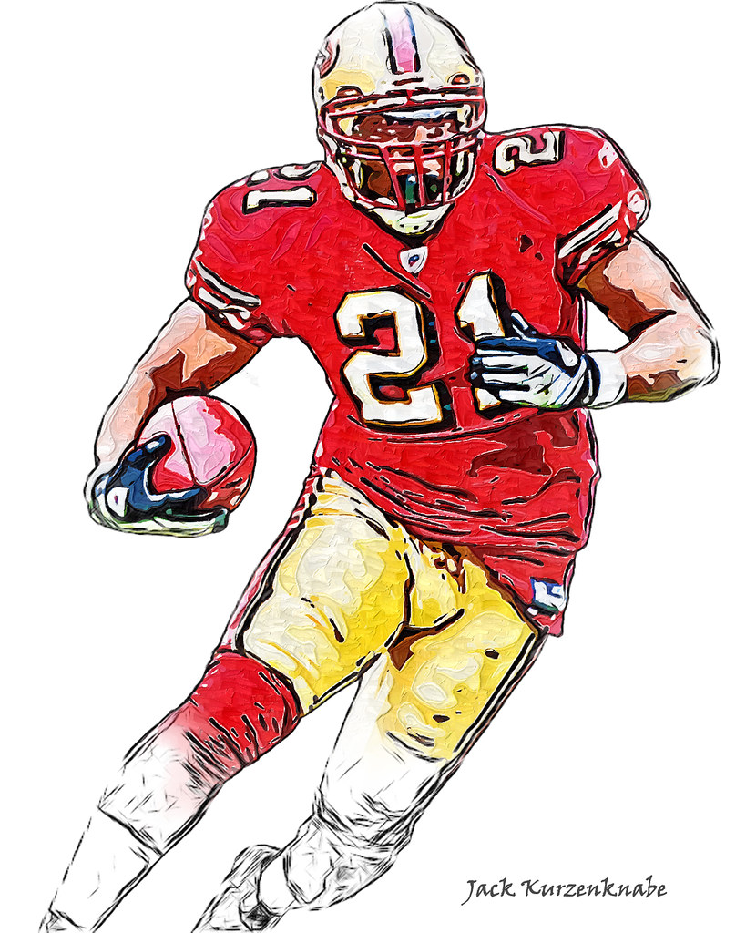 san francisco 49ers frank gore view all my nfl drawings u2026 flickr