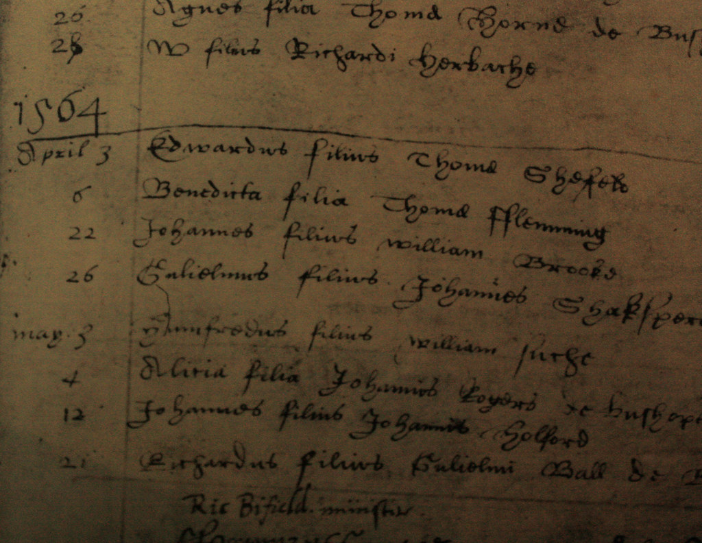Increíble Shakespeare Birth Certificate Motivo - Certificado Actas ...