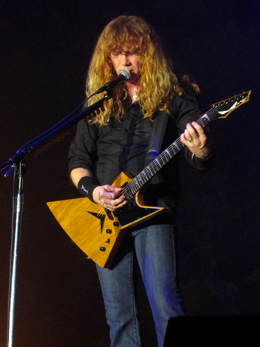 Dave Mustaine | by NinaBarcelona