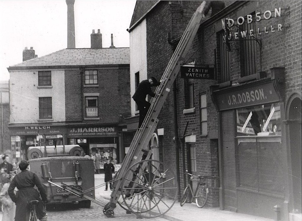 1958 By Preston Digital Archive Guys Row Church Street Preston C 1958 By Preston Digital Archive