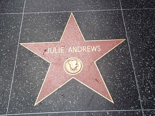 Julie Andrews' star on the Hollywood Walk of Fame | by kndynt2099