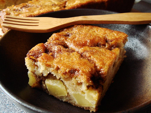 Apple Yogurt Cake with Cinnamon Sugar Streak | A classic ...