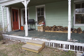 built new front steps | by elizajanecurtis