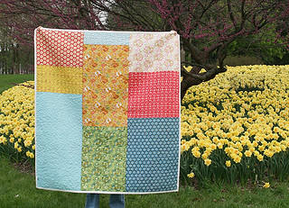 Add it Up Quilt Back | by Fresh Lemons : Faith