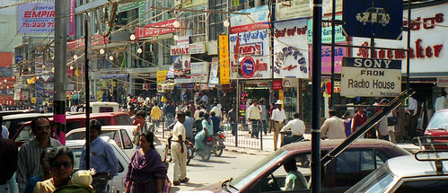 busy busy Brigade Road in Bangalore | by ruffin_ready