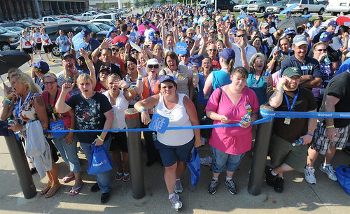 Walmart Associates Wait Outside to Watch Bob Seger and the Silver Bullet Band | by Walmart Corporate