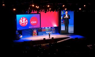 Walmart China presenting at the Walmart International Conference | by micahlaney