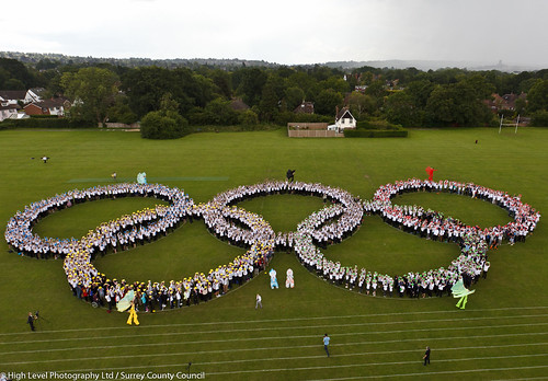 Olympic Rings George Abbot School | by surreynews
