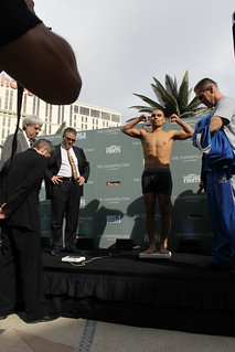 "Fighters Weigh In for the March 25th ""Fight Night at The Cosmopolitan"" 