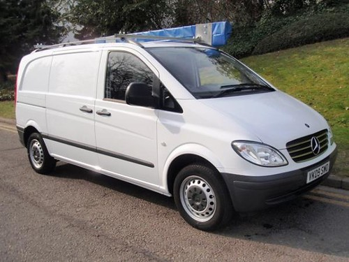 Mercedes-Benz Vito 109Cdi Compact panel van c/w Awning can ...
