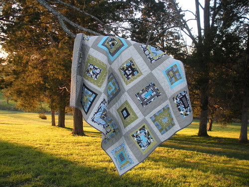 All Square Quilt A Modern Quilt For A Very Traditional