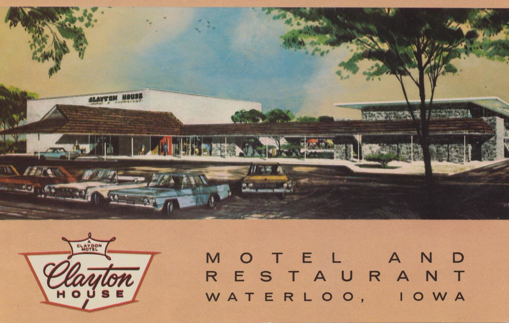 Clayton House Motel - Waterloo, Iowa