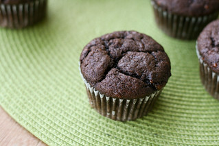 Vegan Chocolate Banana Muffins | by Food Librarian
