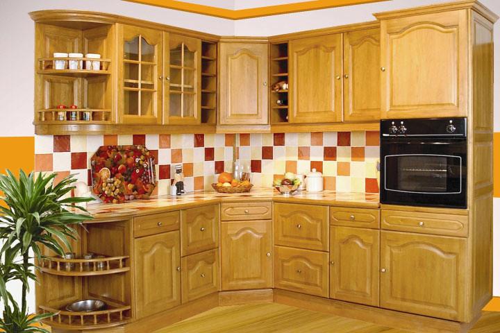 cuisine équipée rustique - modèle traditionnel bourgogne v? | flickr - Model De Cuisine Equipee