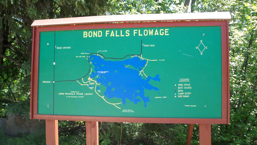 Bond Falls Michigan Map.Bond Falls State Park Paulding Michigan Jim Kallinen Flickr