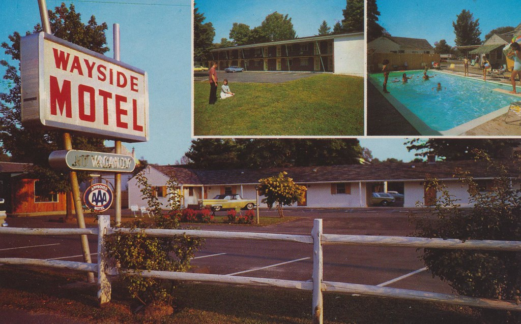 Wayside Motel - Framingham Centre, Massachusetts