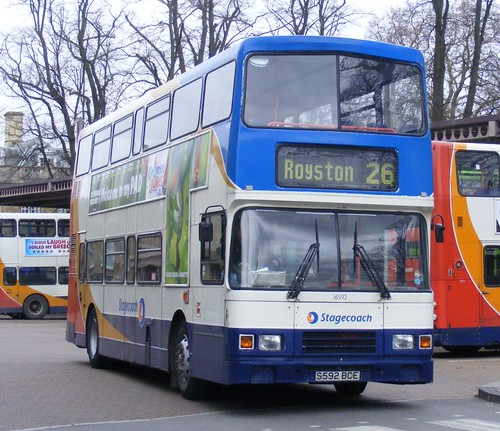 Weird Photo Wednesday November 30th 2011: Stagecoach East . Stagecoach In Cambridge . 16592 S592BCE