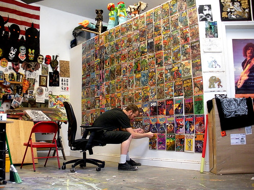Comic Wall | by the art of Skinner