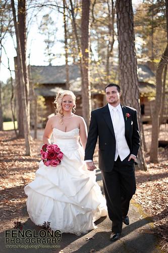 Red Wedding Photography: Jennifer & Derek's Red Top Mountain Weddin