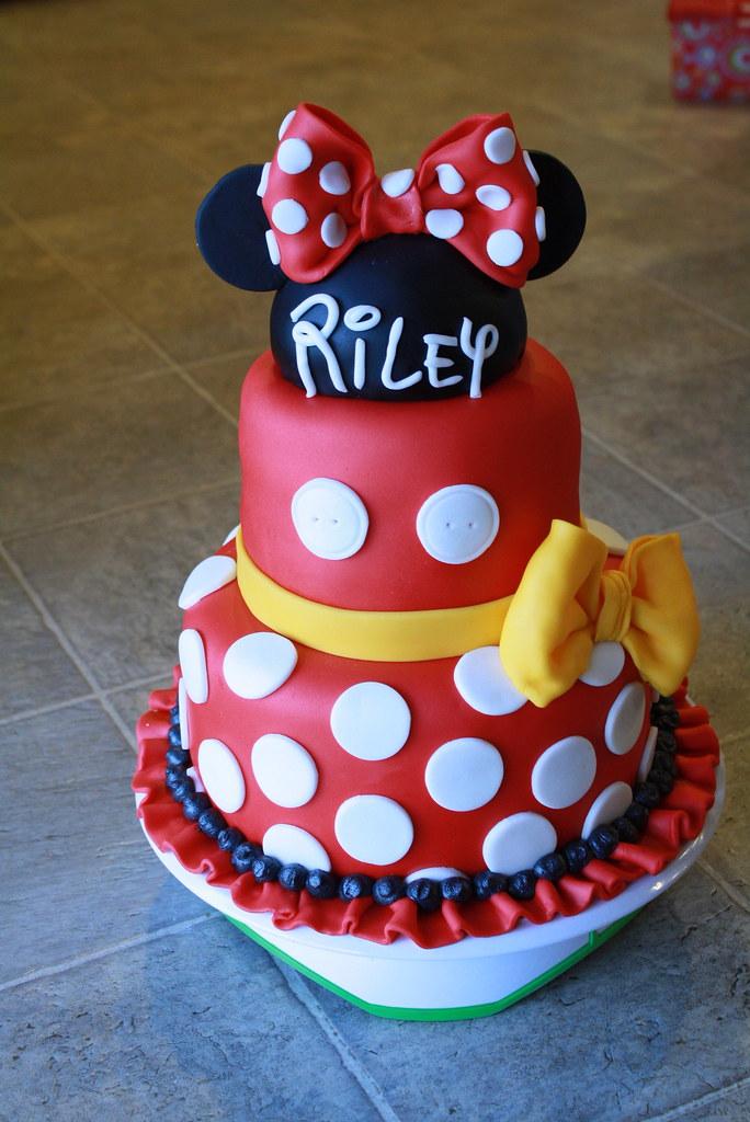 Rileys 5th Birthday Cake Her Birthday Is Tomorrow She Ask Flickr