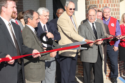 Meyer, Meyer, LaCroix & Hixson ribbon cutting | by England Airpark