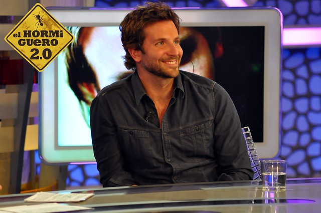 Bradley Cooper visita el programa de El Hormiguero.