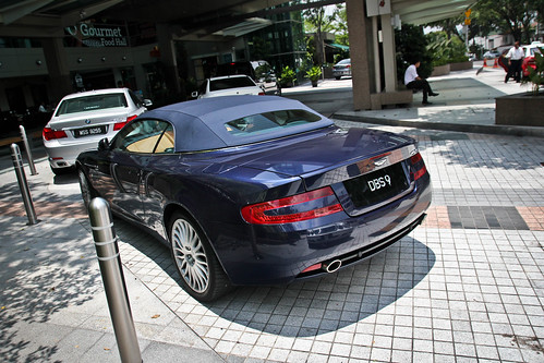 DB9 Volante | by ///r3