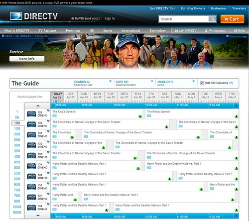 directv_guide | by sygyzy