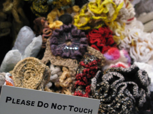 crochet reef - do not touch | by alicerose