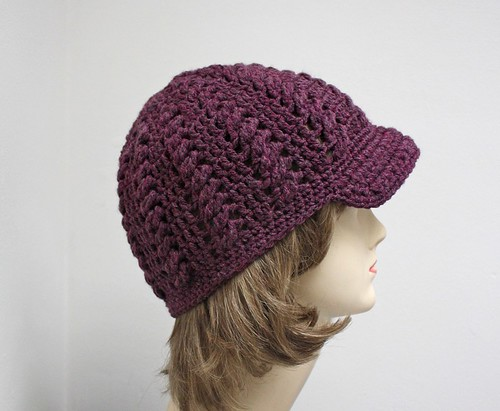 Faux Cabled Beanie | by tsukismama
