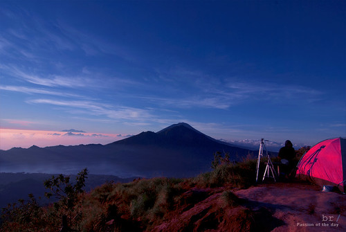 Dome, Mount Abang, Mount Agung | by bartcatapult